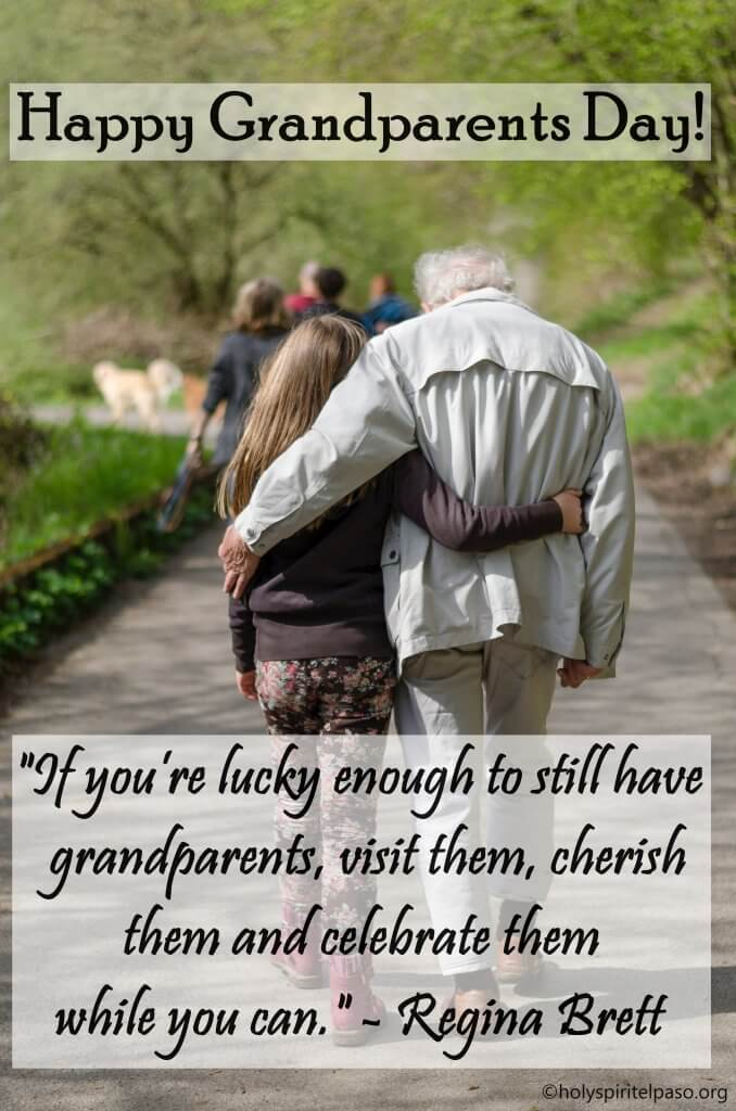 Happy Grandparents Day Images with Quotes, Wishes And Msg