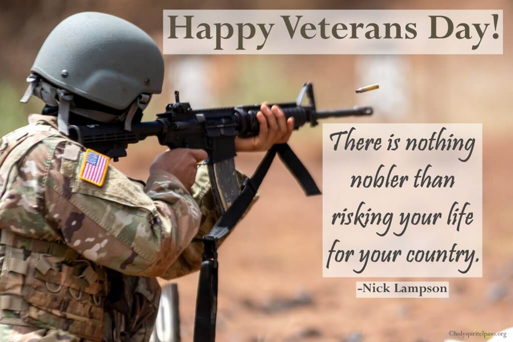 Happy Veterans Day Image With Wonderful Wallpaper