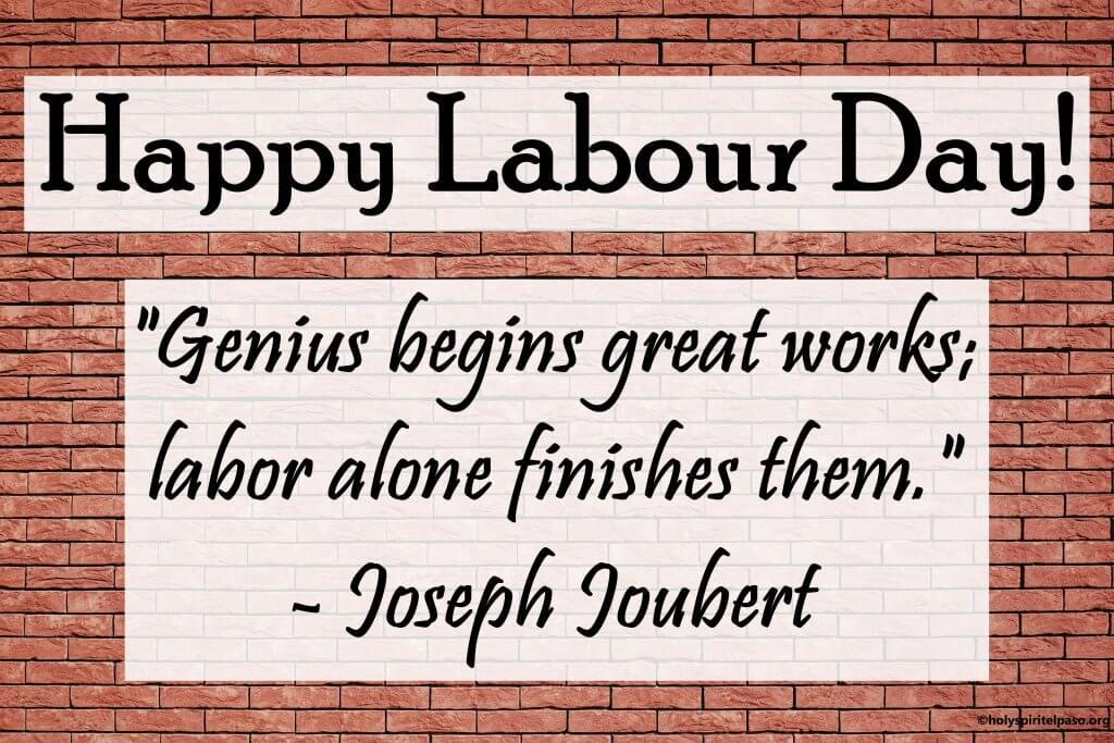 Labour Day Message With Image And Saying