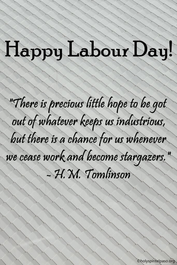 Wonderful Labour day Picture With Quotes
